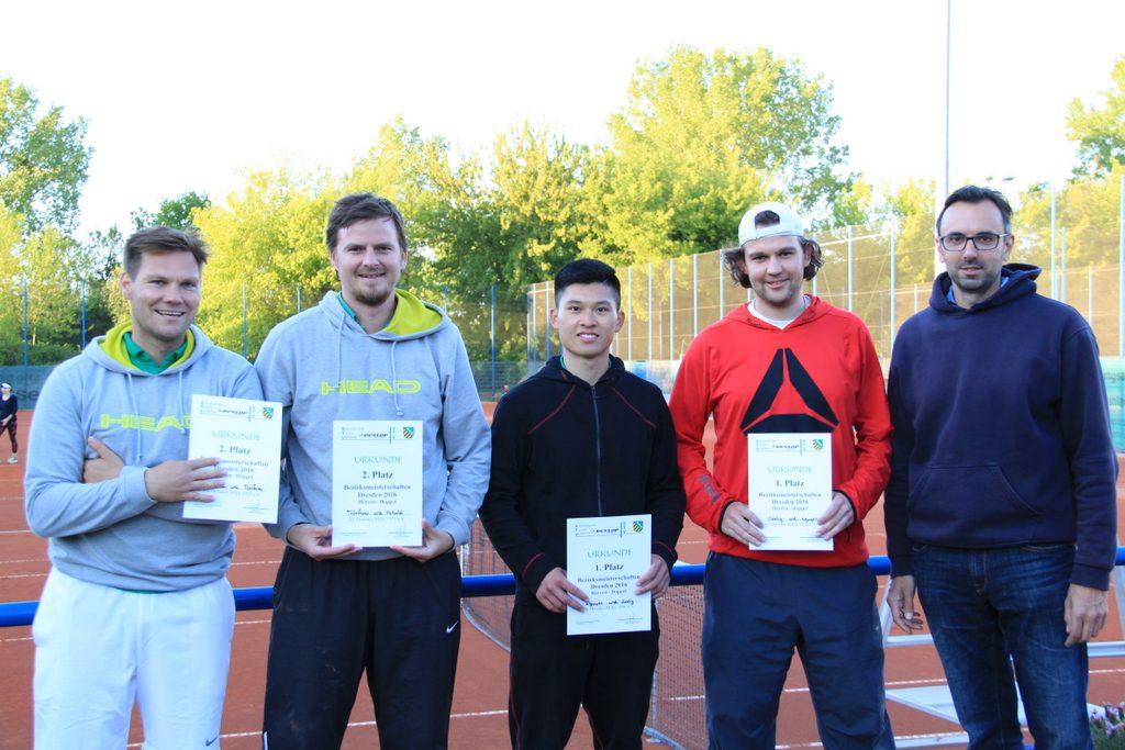 von links nach rechts: Dirk Petzold, Stefan Tränkner, Martin-Long Nguyen, Marc-Robert Szelig, Sven Halank