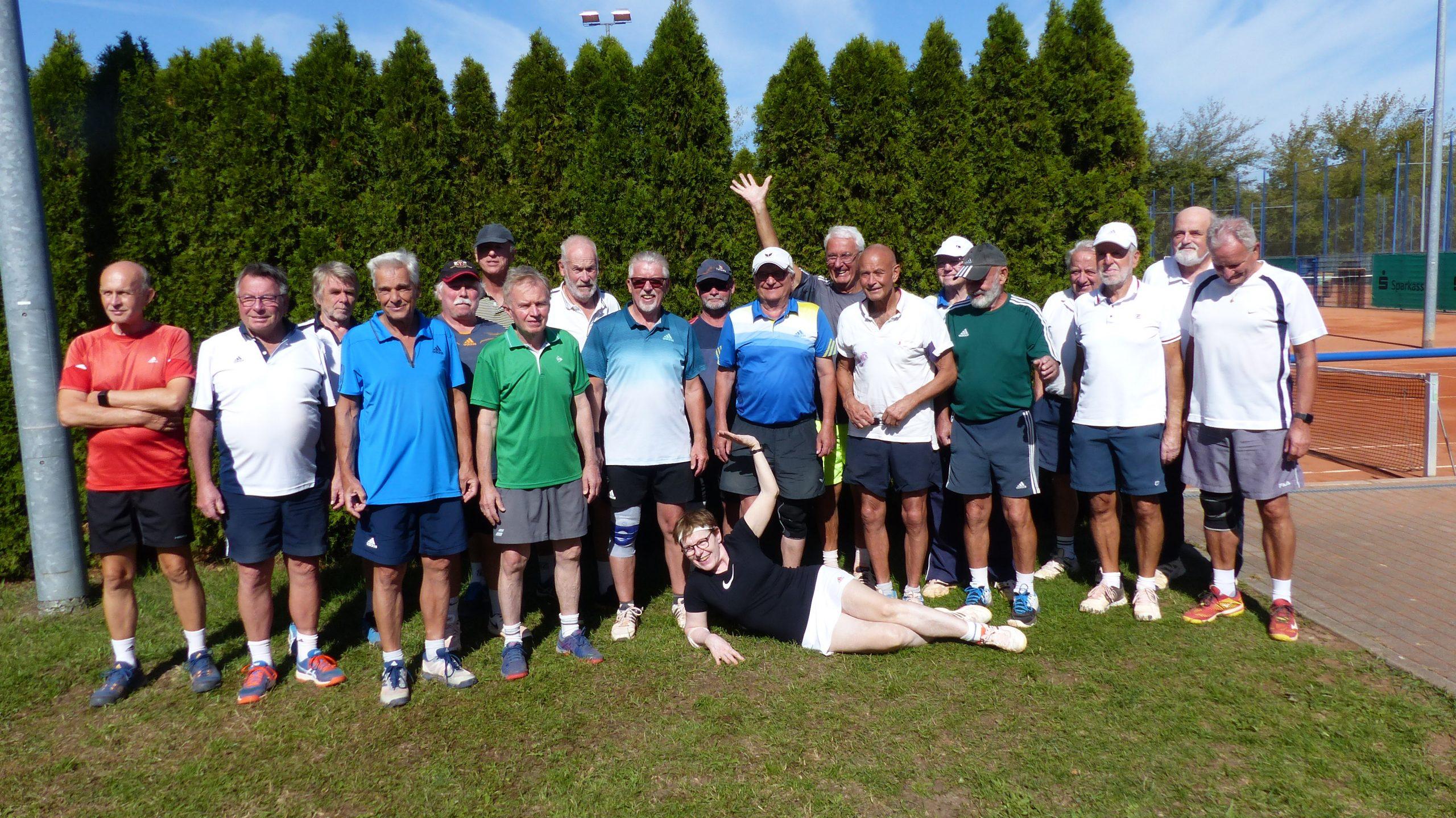 Teilnehmer des Greisen-Masters 2020